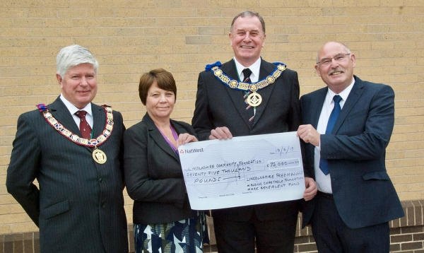 Freemasons donate £75,000 for victims of Lincolnshire floods